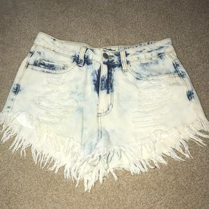 Forever 21 high waisted jean shorts
